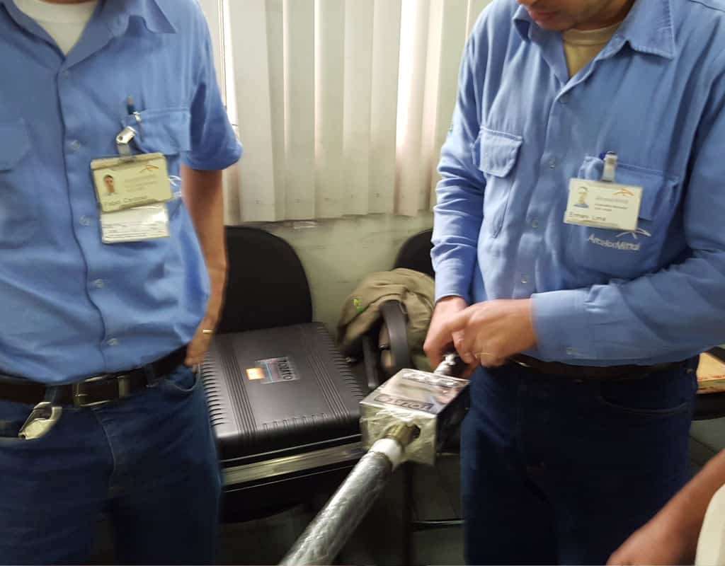 Tozato Mould Profilometer Users at ArcelorMittal